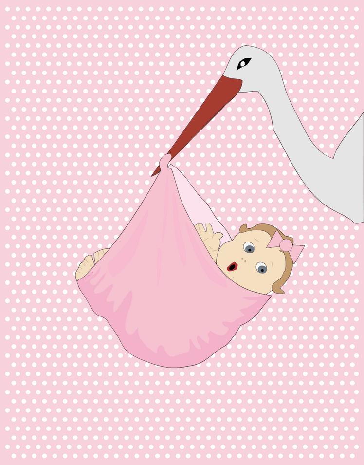 Přání k narození dítěte, zdarma ke stažení - dítě přáníčko